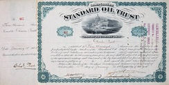 Share of the Standard Oil Trust, issued 18 January 1883[10]