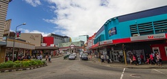 Suva, capital and commercial centre of Fiji