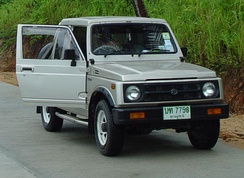 Thai-built Suzuki Caribian Sporty extended-cab pickup