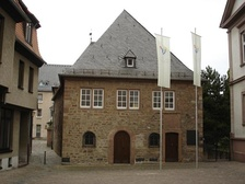 Exterior of Rashi's Synagogue, Worms, Germany