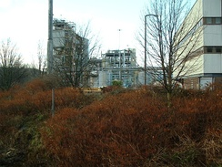 A former ICI plant in Huddersfield, West Yorkshire, now owned by Syngenta.