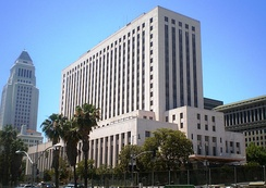 United States Court House in downtown Los Angeles, California, one of several sites used by the Central District of California.