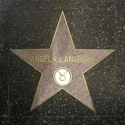 Angela Lansbury, star on the Walk of Fame