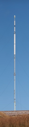 High resolution vertical panorama of the main mast