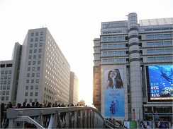Xidan is one of the oldest and busiest shopping area in Beijing.