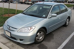 2004–2005 Honda Civic Hybrid (US)