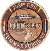 103d Expeditionary Fighter Squadron emblem