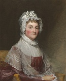 The second First Lady of the United States, Abigail Adams, c. 1800–1815