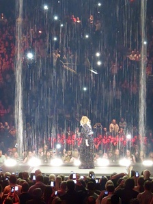 "Adele sings ""Set Fire to the Rain"" at the Genting Arena, March 2016"