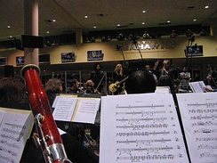 Alice in Chains rehearsing with the Northwest Symphony Orchestra in Seattle in 2007.