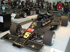 Lotus 77 in an exhibition