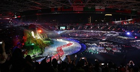 Asian Games 2018 opening ceremony in Gelora Bung Karno Stadium, 2018