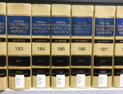The California Appellate Reports, the official reporter of the Courts of Appeal