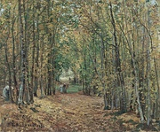 The Woods at Marly, 1871. Thyssen-Bornemisza Museum