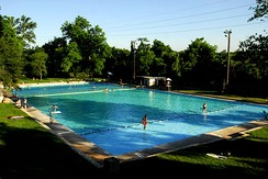 Austin's Deep Eddy Pool is the oldest man-made pool in Texas.