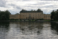 Drottningholm Palace, a UNESCO World Heritage site is the home residence of the King & Queen.[2]