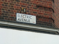 Electric Avenue, the street that gave its name to Eddy Grant's 1982 single