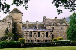 Falkland Palace from the gardens