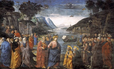 Vocation of the Apostles (1481) by Domenico Ghirlandaio