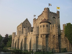 The Gravensteen at Ghent, Built by Philip of Alsace