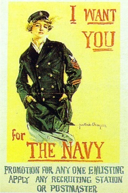 Navy poster by Howard Chandler Christy