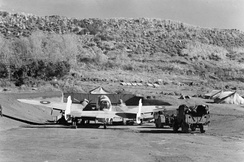 Royal Air Force Coastal Command in the Azores.