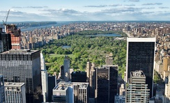 Central Park in New York City is the most-visited urban park in the U.S.[21]