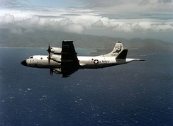 P-3B of VP-6 near Hawaii