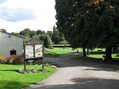 Pudsey Park - opened in October 1889
