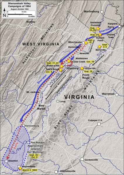Shenandoah Valley operations, August–October 1864