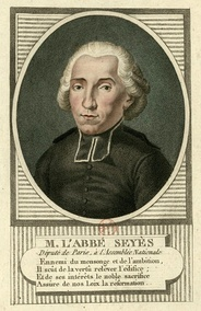 Emmanuel Joseph Sieyès, who proposed that the Third Estate become the National Assembly (June 10, 1789)