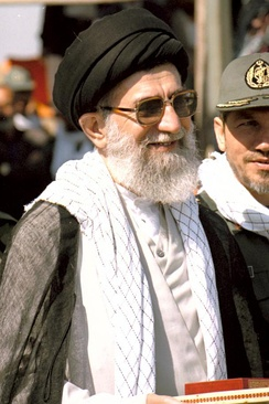 Supreme leader of Iran (Seyyed Ali Khamenei) is the highest-ranking official in Iran, and is Iranian Azeri on his father's side