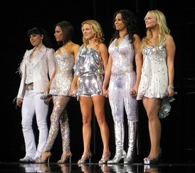Spice Girls, the best-selling female group of all time, one of the best-selling pop groups of all time,[18][19] and the biggest British pop phenomenon since Beatlemania