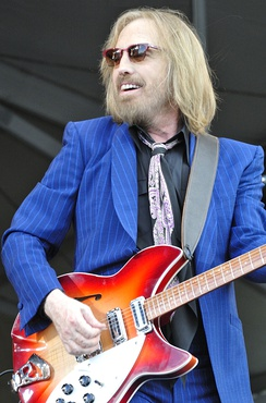 Tom Petty and the Heartbreakers (Tom Petty pictured) played during the halftime show.