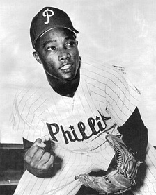 Taylor as a player with the Philadelphia Phillies in 1961