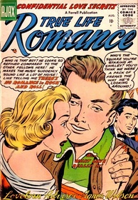 """There's No Romance in Rock and Roll"" made the cover of True Life Romance in 1956"