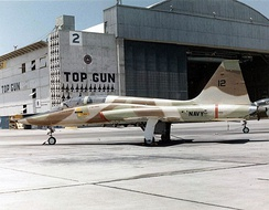 "US Navy DT-38A at United States Navy Fighter Weapons School ""Top Gun"" (1974)"