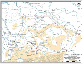 The French concentrated around the Rhine from early to mid-September. 210,000 troops of the Grande Armée prepared to cross into Germany and encircle the Austrians.