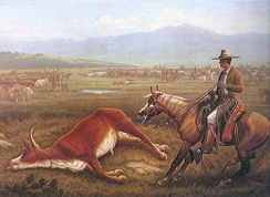 Vaqueros in California, circa 1830s