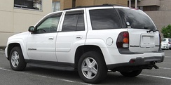 2002–2005 Chevrolet TrailBlazer, with modification to meet Japanese standards.