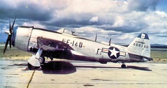 F-47N 44-8914 at Lockbourne AFB, Ohio, 1948