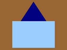 The distinguishing patch of the 58th Battalion, CEF.