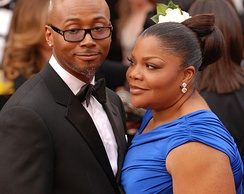 Mo'Nique and husband Sidney Hicks attending the 82nd Academy Awards