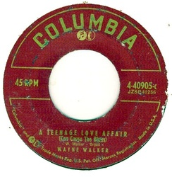 Columbia used this label for its 45 r.p.m. records from 1951 until 1958.