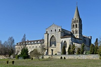 Bassac Abbey (12th -18th centuries), Bassac, Charente, France
