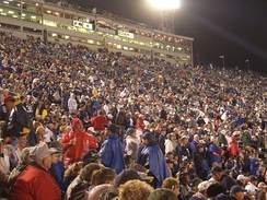 109,839 people were in attendance when the Nittany Lions defeated the Ohio State Buckeyes in 2005.[14]