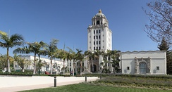 The Beverly Hills City Hall, built in 1931