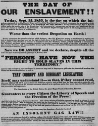 1855 Free-State poster