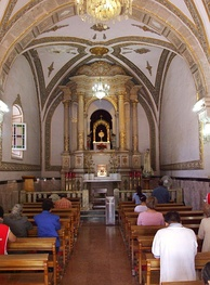 Eucharistic adoration and meditation, Cathedral of Chihuahua, Mexico