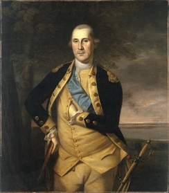 George Washington by Charles Willson Peale, c. 1776